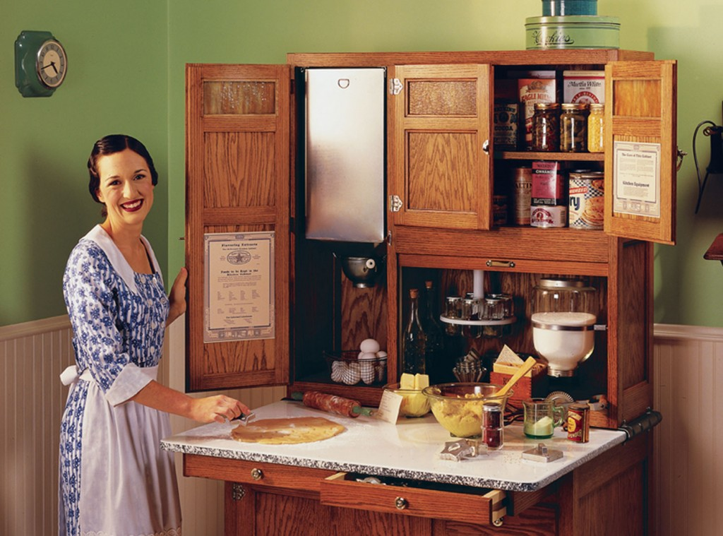The Overlooked History of Kitchen Cabinetry