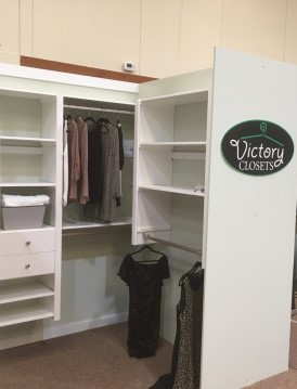 Victory Closet Organization System installed by Creation Cabinetry in Hamburg PA